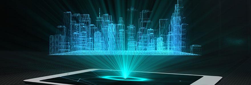 projecteur holographique lors de vos evenements