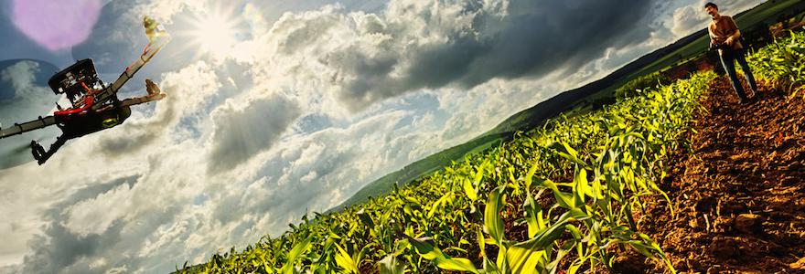 technologie au service de l'agriculture