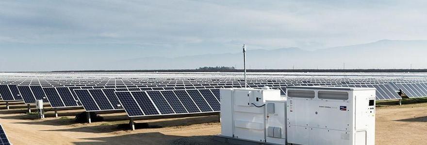 Onduleurs photovoltaiques centralisés
